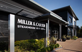 exterior view of miller and carter restaurant in cardiff bay